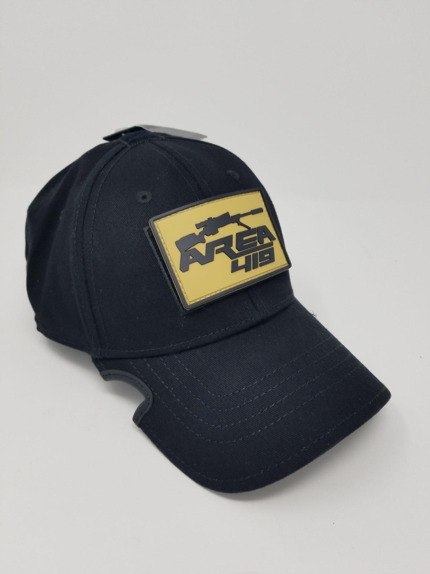 Notch Gear Black Operator Hat W/Patch