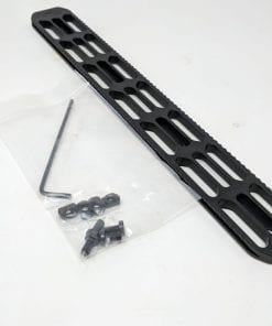 Picatinny Rail Adapter for Manners Barricade Mini-Chassis