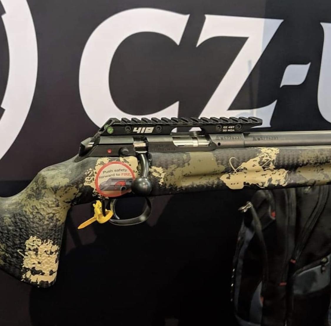 CZ457 Scope Base